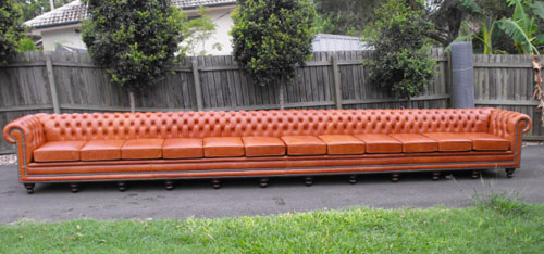 Longest Chesterfield sofa